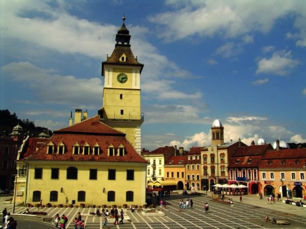 Brasov seen in Romania tours from Budapest