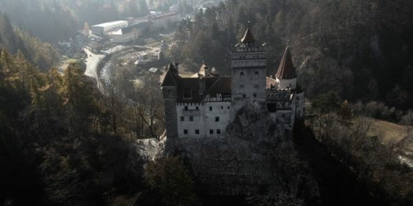 Aerial Dracula tour from Brasov over Dracula's Castle-airplane, transylvania private tours