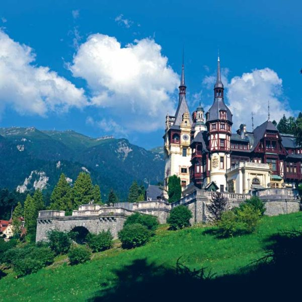 Peles Castle from Sinaia, Dracula tour in Transylvania