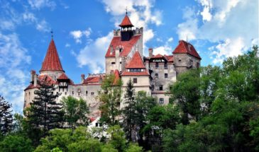 Bran Castle from Transylvania, Romania, seen in escorted tours in Romania