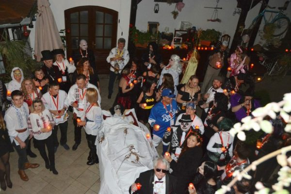Ritual Killing of a Living Dead in this Sighisoara Halloween short break