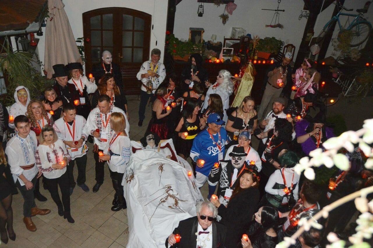 Ritual Killing of a Living Dead in this Sighisoara Halloween short break