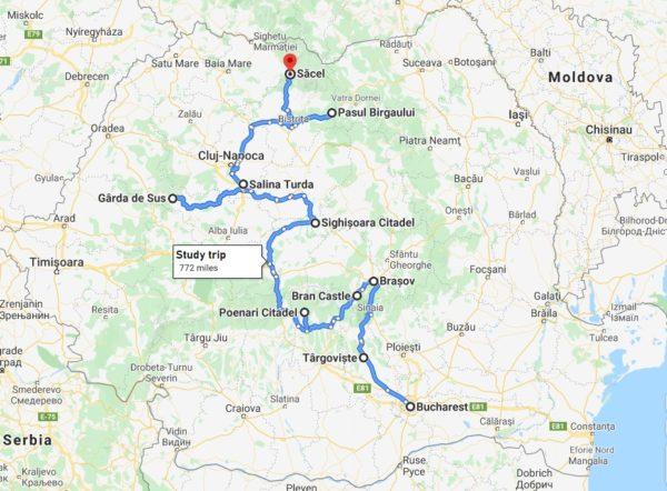 dracula study trip in transylvania