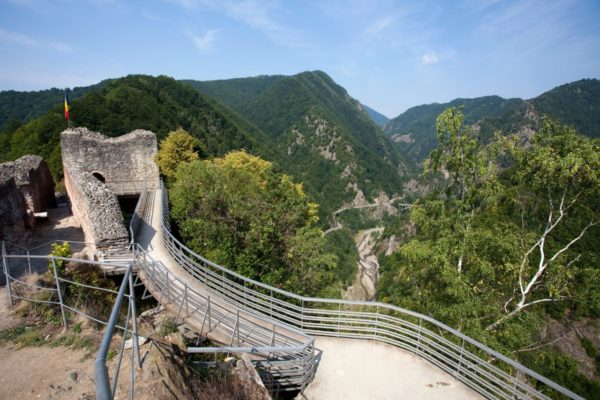 Poenari Citadel - Private tours of Romania, Dracula's Castle Romania