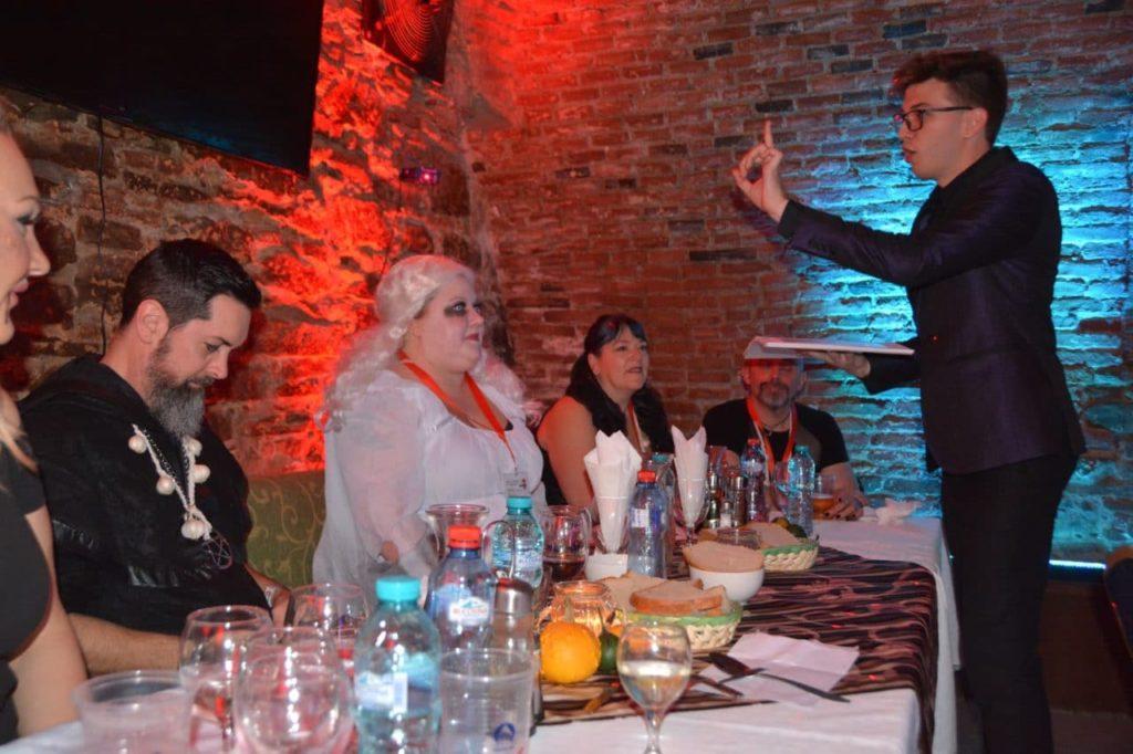 dracula's castle halloween best party