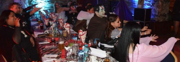 The best Halloween party in Transylvania, Sighisoara Citadel Romania -Transylvania Halloween 2020