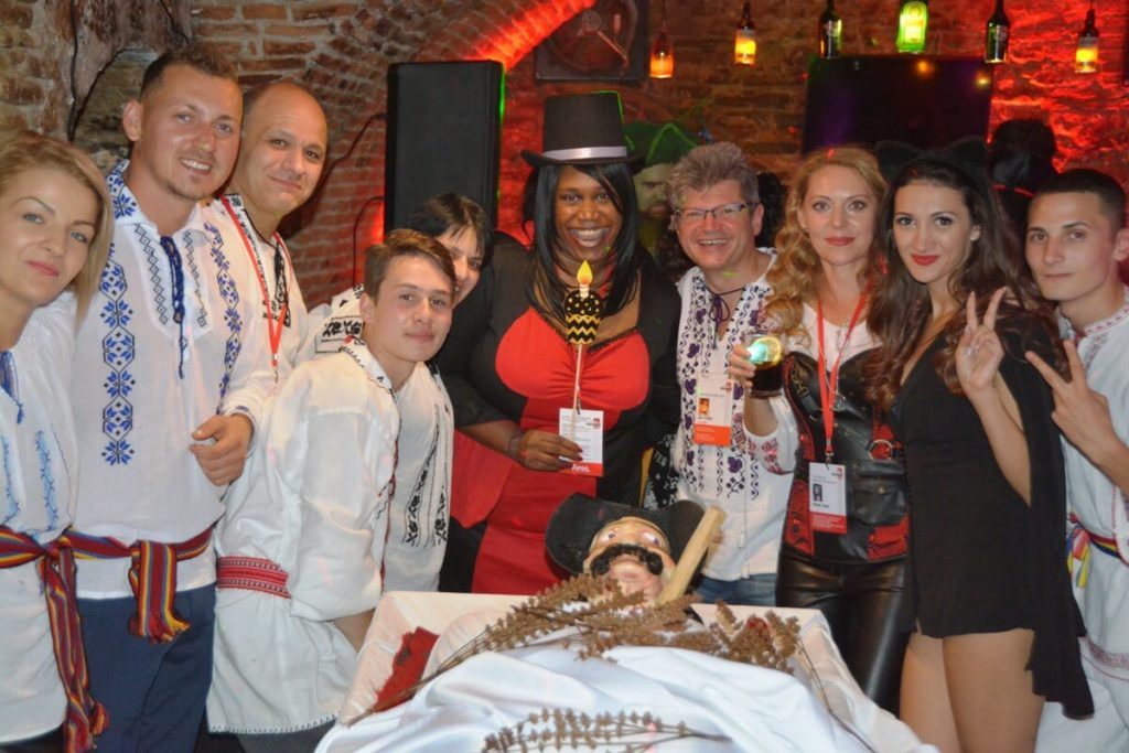 Halloween in Transylvania tour with 3 Halloween parties, dracula halloween party