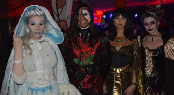 Bran Castle Halloween Party aka Dracula's Castle Halloween Party in Halloween tours in Transylvania, Romania tours